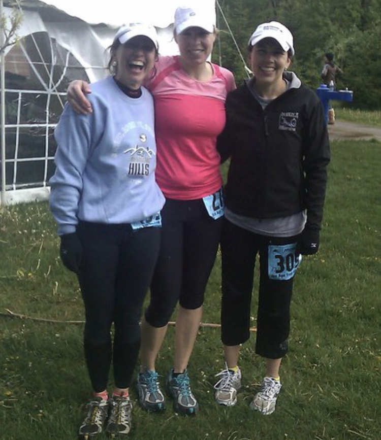 Fall 2010. Another ultra completed - Shawn, Pam and Alicia