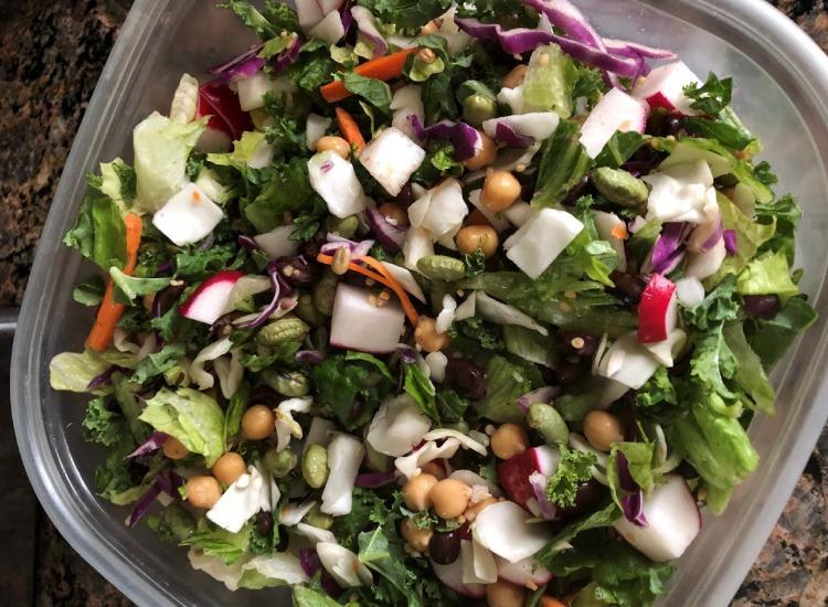 Never Ending Salad by Shawn Tegtmeier