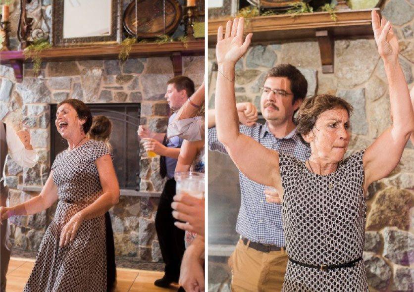 Shawn Tegtmeier dancing