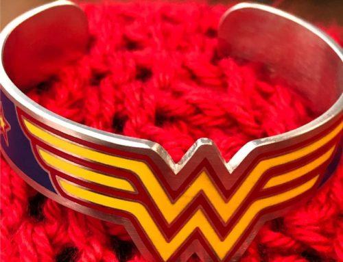 A Wonder Woman Bracelet