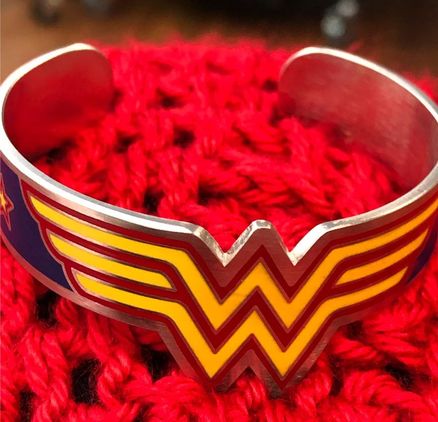 Wonder Woman Bracelet for fighting cancer